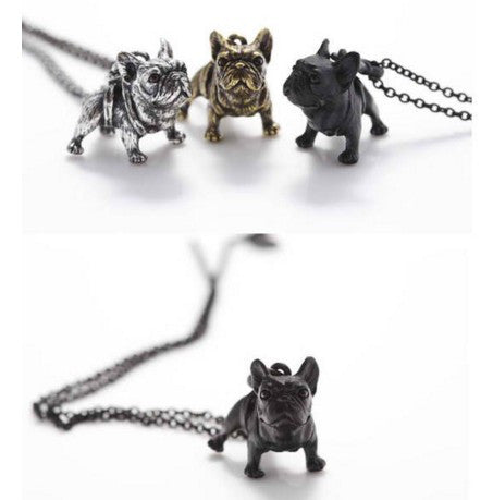Handmade French Bulldog Necklace