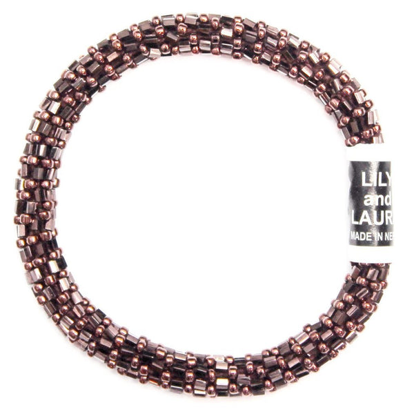 Cherry Copper Cut and Round Bracelet