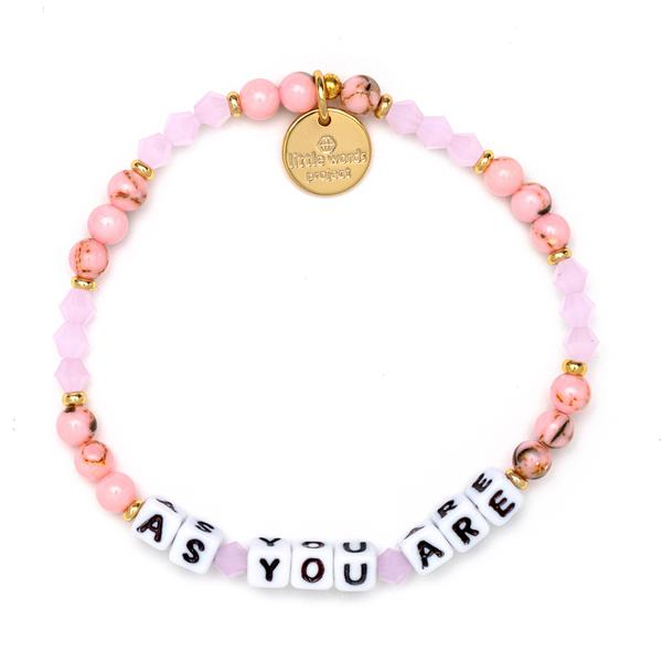 Little Words Project Fall for Me As You Are Bracelet
