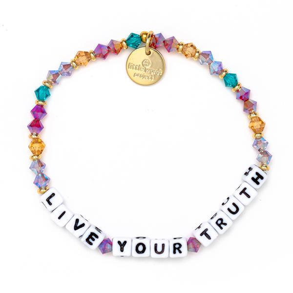 Little Words Project Fall for Me Live Your Truth Bracelet