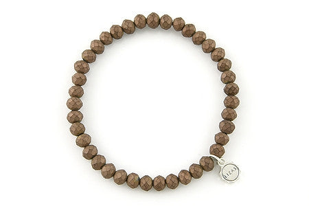 Nashville Matte Brown Bracelet