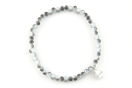 Knoxville Grey White Mixed Bracelet