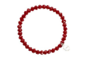 Nashville Dark Red Bracelet