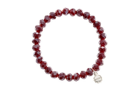 Clarksville Dark Red Metallic Bracelet