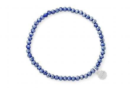 Knoxville Winter Blue Sparkle Bracelet