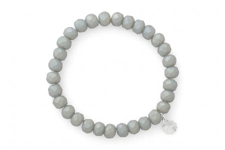 Clarksville Matte Light Grey Bracelet
