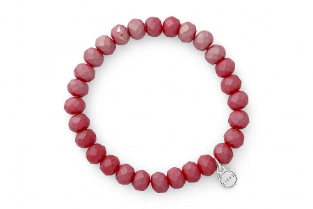 Clarksville Frosted Red Bracelet