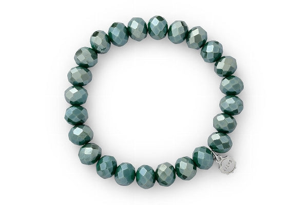 Lizas Huntsville Winter Forest Green Bracelet