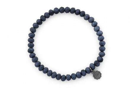 Nashville Frosted Dark Blue Bracelet