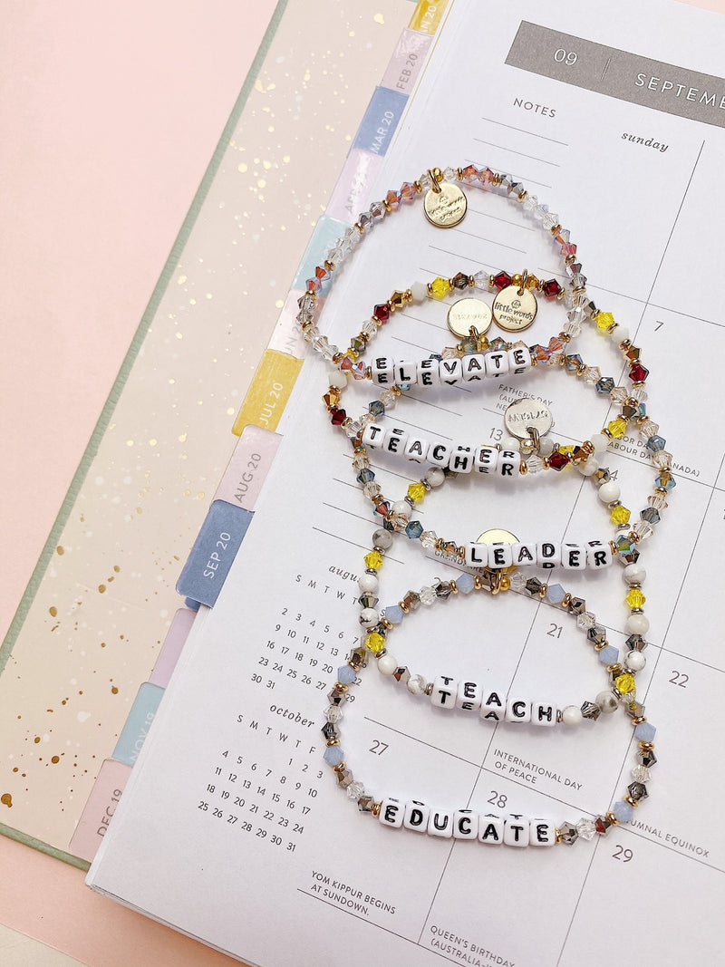 Teacher Appreciation Educate Bracelet