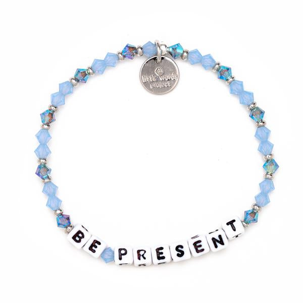 Little Words Project Reflection Be Present Bracelet