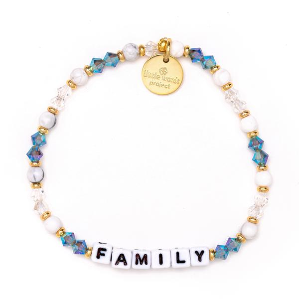 Little Words Project Reflection Family Bracelet