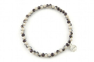 Knoxville Rose Grey Mix Bracelet