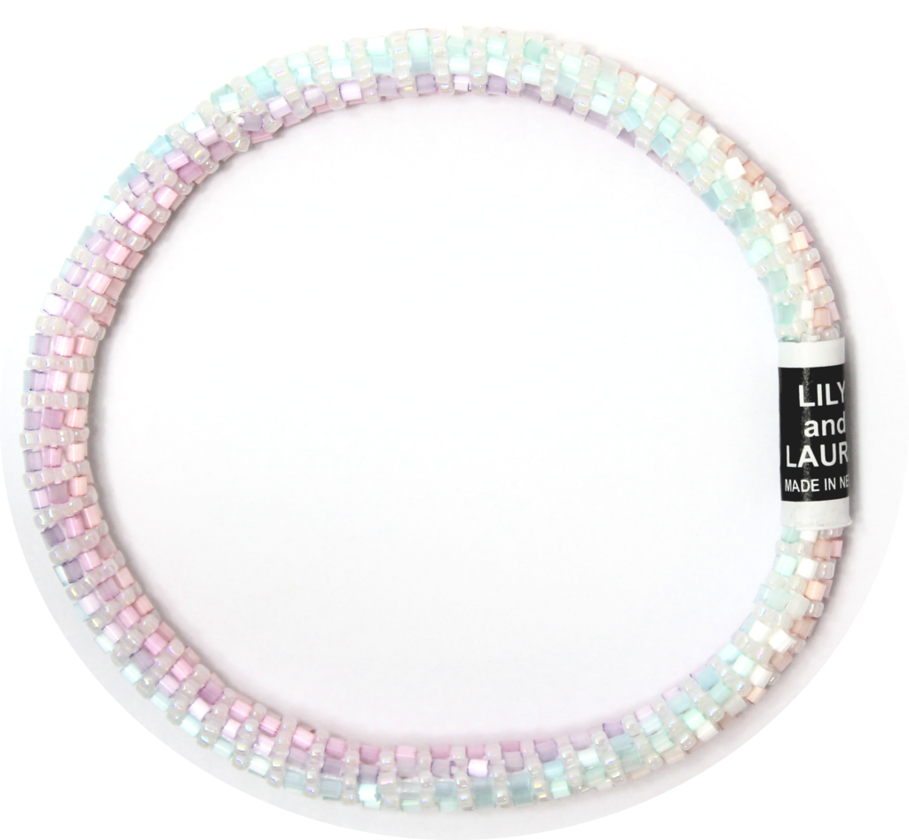 Lily and Laura Rainbow Beach Anklet