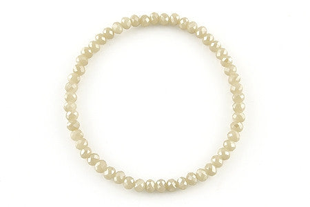Knoxville White Opal Bracelet
