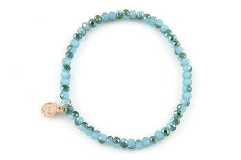 Knoxville Aqua Green Mix Bracelet