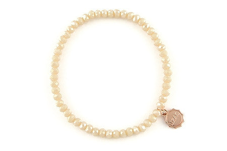 Knoxville Icy Rose Opal Bracelet