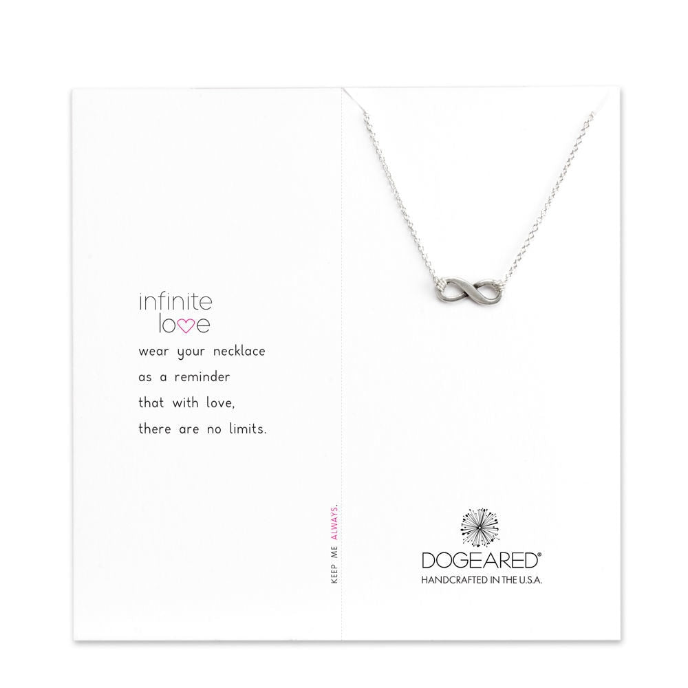 Sterling Silver Infinite Love Necklace
