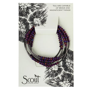 Scout Curated Wears Hematite Dahila Scout Wrap
