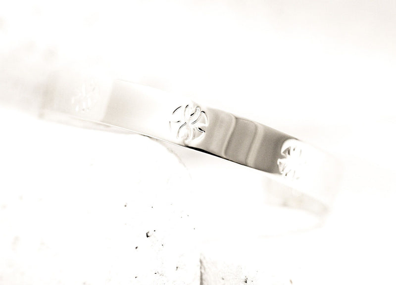 Pieces of Me Silver Loyal Cuff