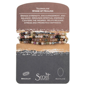 Scout Curated Wears Tourmaline Stone of Healing Wrap