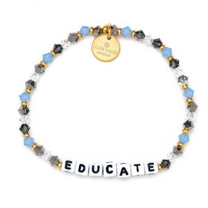 Little Words Project Teacher Appreciation Educate Bracelet
