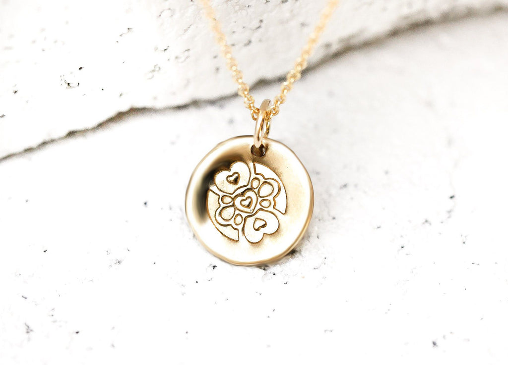 Pieces of Me Gold Compassionate Necklace