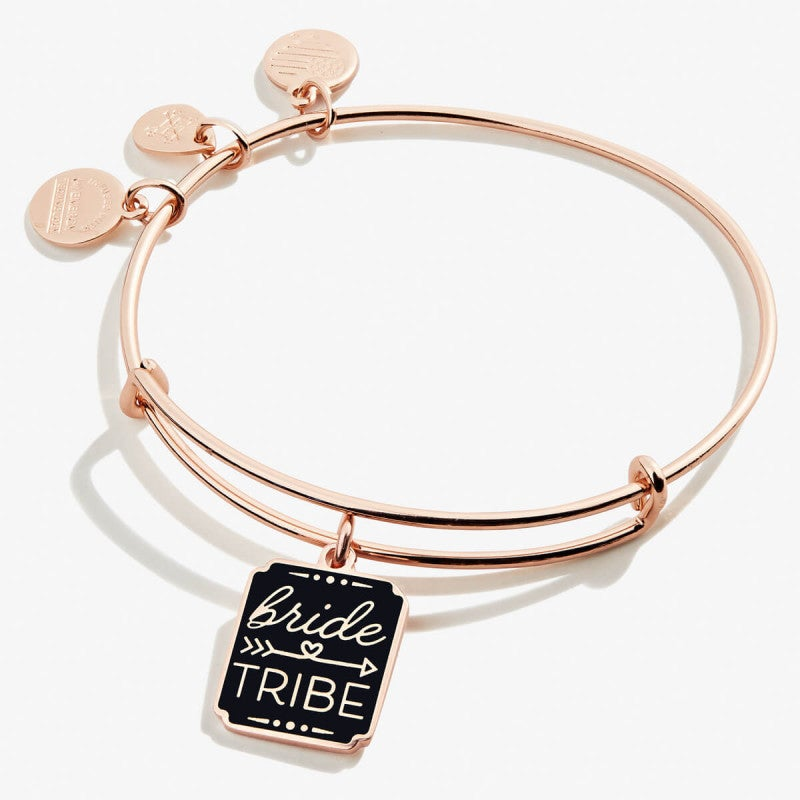 Alex and Ani Rose Gold Color Infusion Bride Tribe Bangle