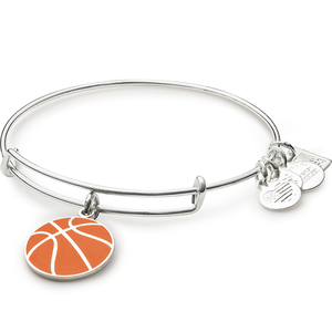 Silver Team USA Basketball Bangle