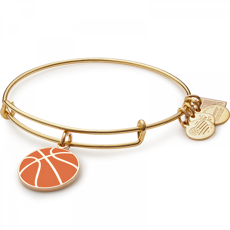 Gold Team USA Basketball Bangle