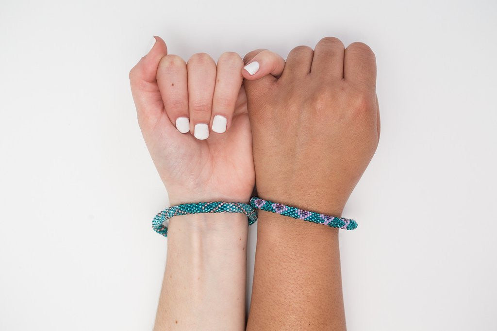 Roll-On Mermaid Friendship Bracelets