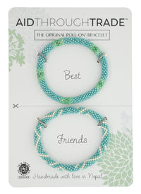 Roll-On Turquoise Vibe Friendship Bracelets
