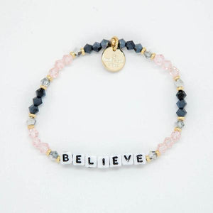Little Words Project Believe Belle Bracelet