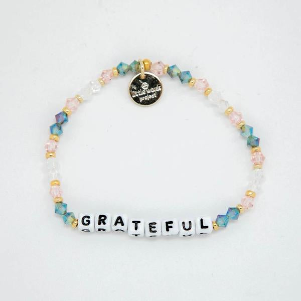 Little Words Project Grateful Arrow Bracelet
