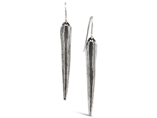 Silver Stalactite Earrings