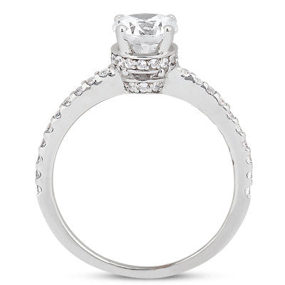 Engagement Ring Semi-mount 8730
