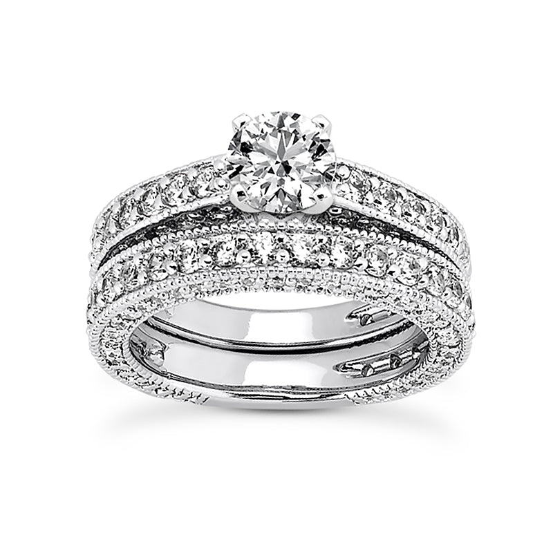 Engagement Ring Semi-mount 1255