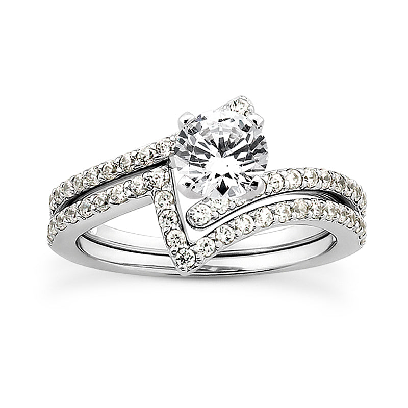 Engagement Ring Semi-mount 3007