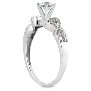 Engagement Ring Semi-mount 3008