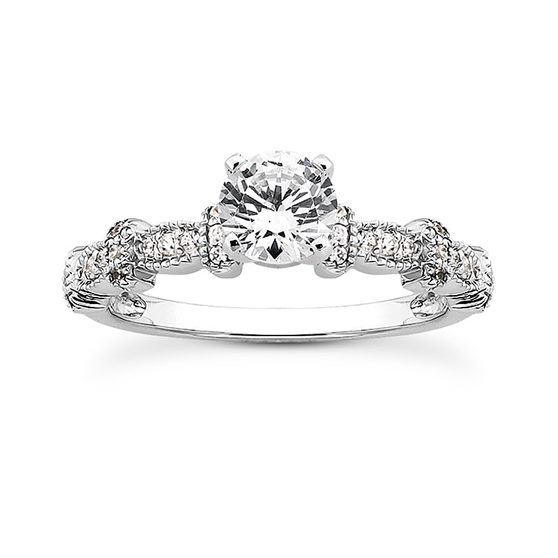 Engagement Ring Semi-mount 3029