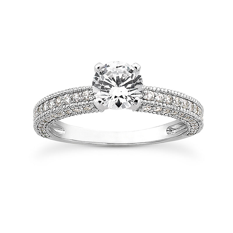 Engagement Ring Semi-mount 3032