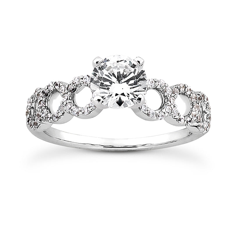 Engagement Ring Semi-mount 3042