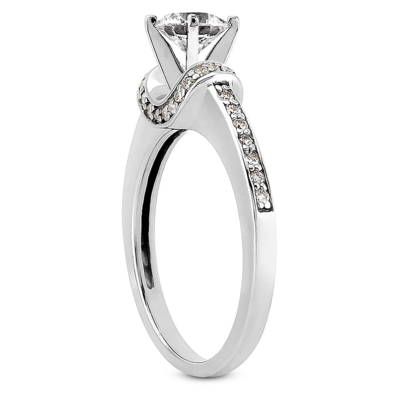 Engagement Ring Semi-mount 3078