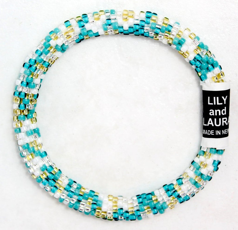 Lily and Laura Turquoise Tantrum Bracelet
