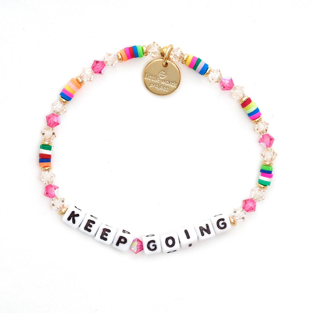 Note to Self Keep Going Bracelet