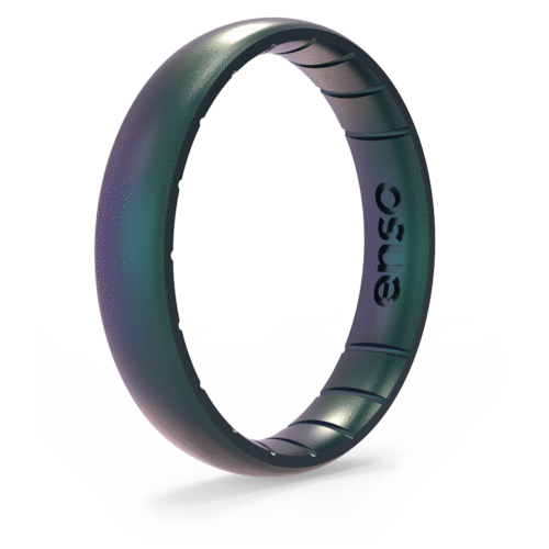 Legends Mermaid Thin Silicone Ring