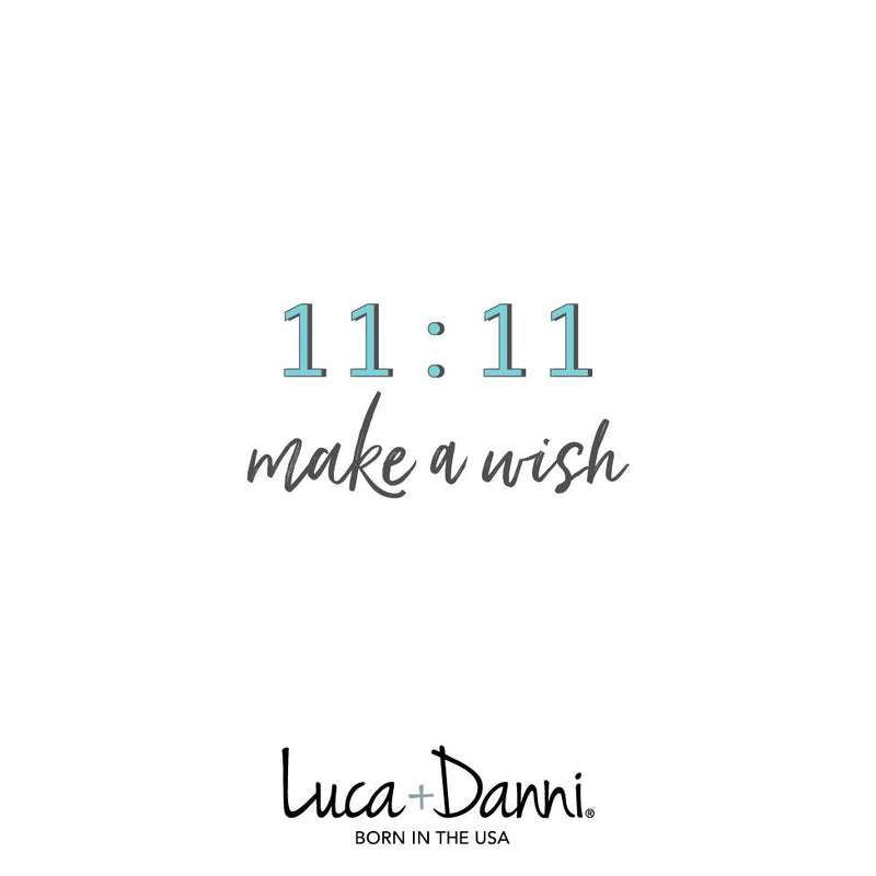 11:11 Make a Wish Silver Bangle Bracelet