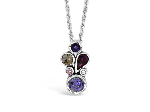 Tidbit Purple Rain Necklace