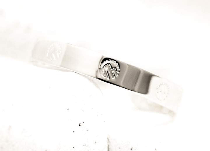 Pieces of Me Silver Adventurous Cuff