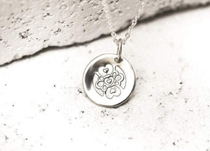 Pieces of Me Silver Compassionate Necklace